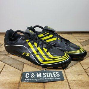 RARE 2008 Adidas F5-9 TRX HG Mens Soccer Cleats Black Yellow